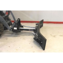 130 cm Dozerblad mekanisk m/justerbare ender